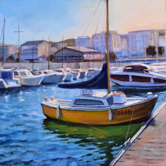 Altea harbour