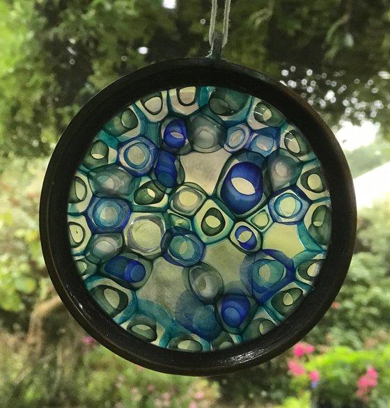 Blue Hanging Cellular