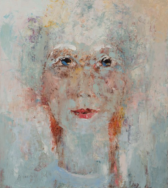 Portret in White
