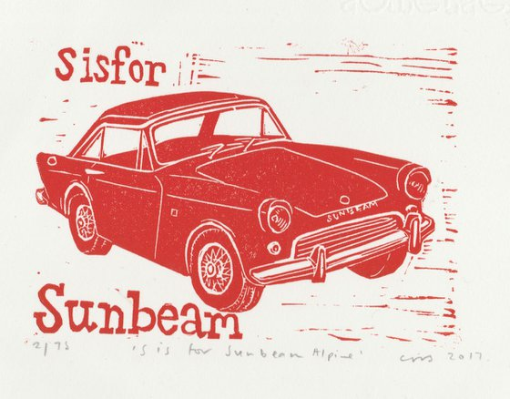 S is for Sunbeam Alpine