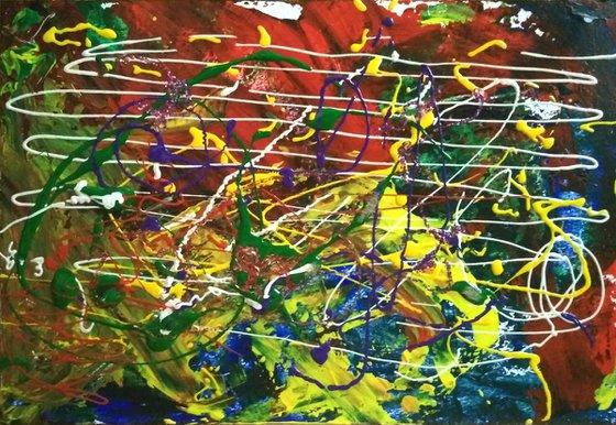 Abstract Original Acrylic painting #2