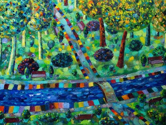 City Garden by Gala Sobol
