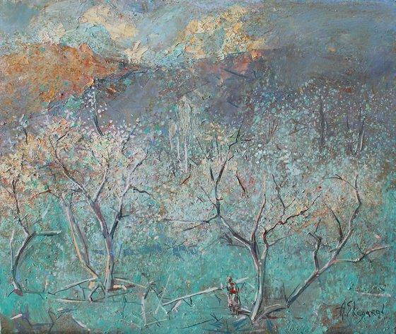 Spring (60x50 cm)