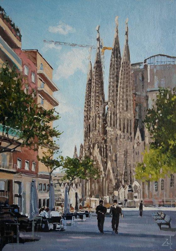 Прогулка в Барселоне