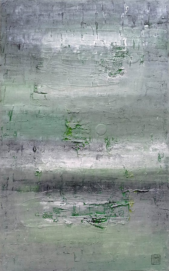 A138 (Contemporary abstract Spiritual Architecture Landscape Acrylic on canvas Large wall art Painting Series)