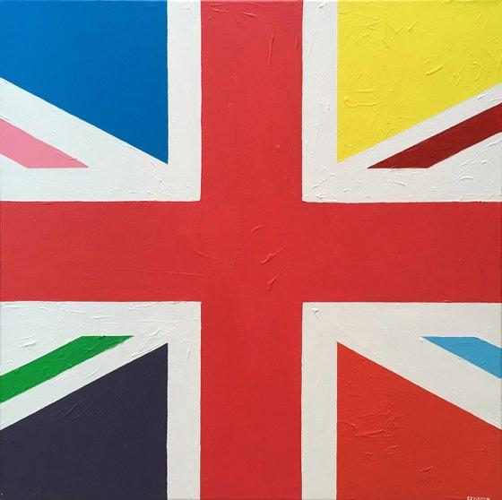 LGBT+ UNION FLAG (UNION JACK)
