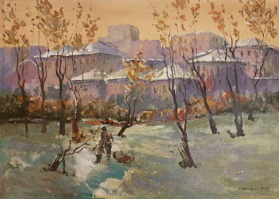 Winter Landscape – One of a Kind