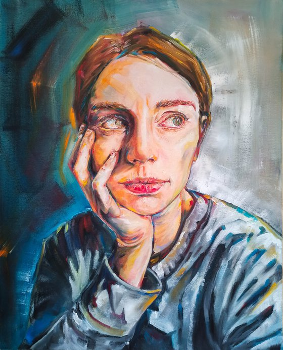 Reflexive self-portrait