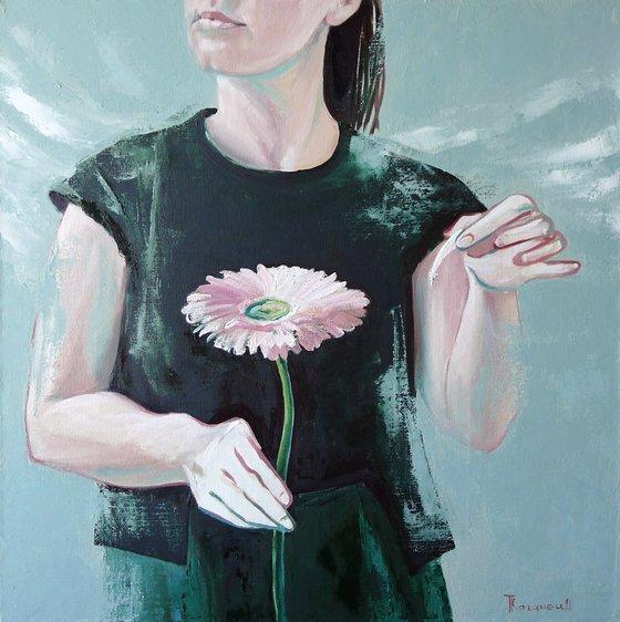 The flower girl's soul