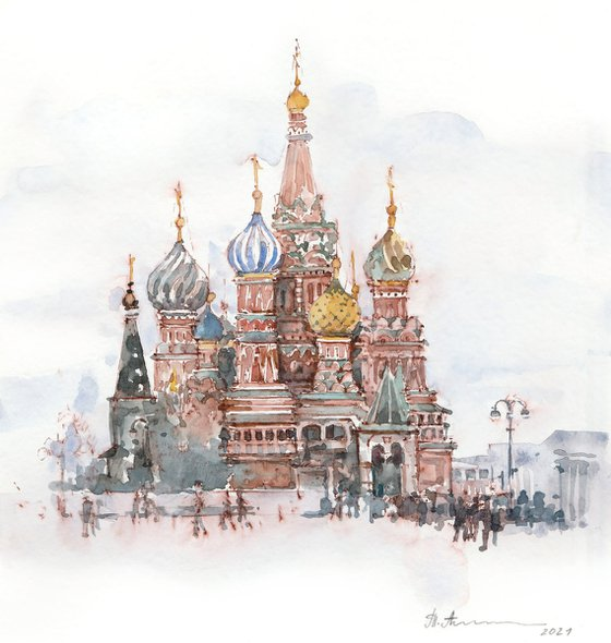 Cathedral of Vasily the Blessed in the Red Square