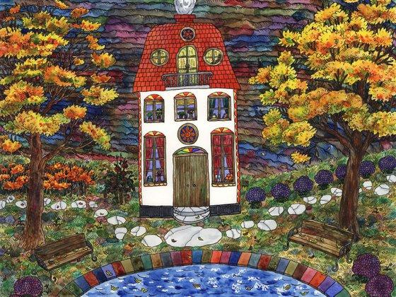 HOUSE BY THE FIELD by Gala Sobol