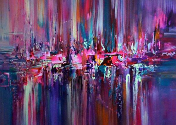 Pearl Metallic Constructive City's 07 (Artwork on Paper 70/50)