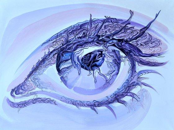 the purple eye