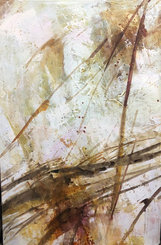 """""""Abstraction 19"""" size 60x90cm;  canvas, oil.  Free shipping"""