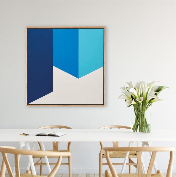 Disperse (Geometric Acrylic Painting)