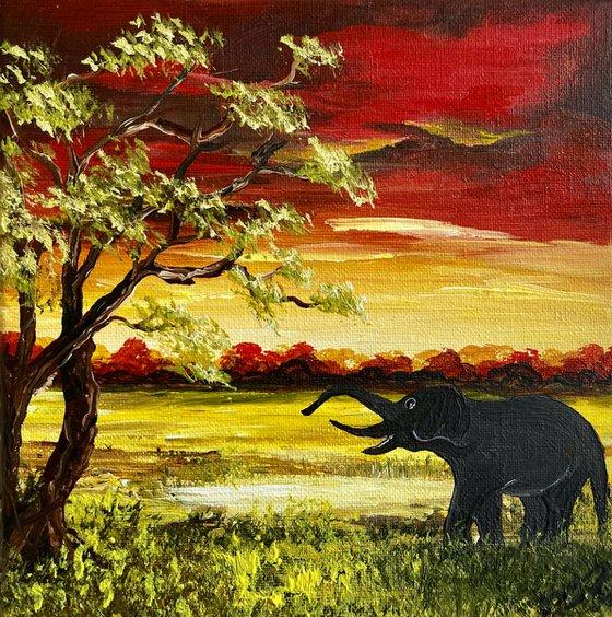 Elephant's Breakfast