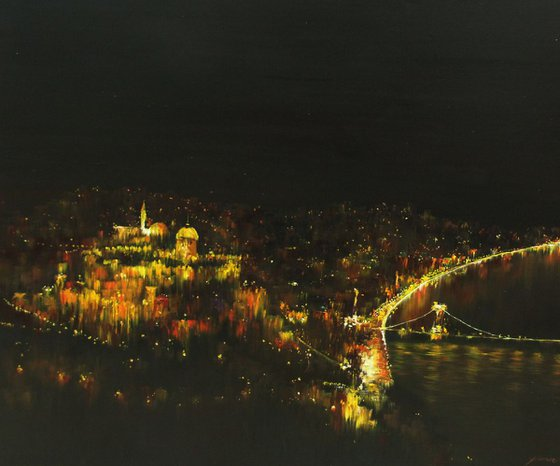 Budapest - Colored with Light