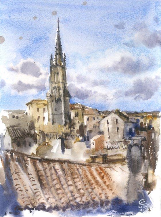 Saint Emilion. France, Bordeaux.
