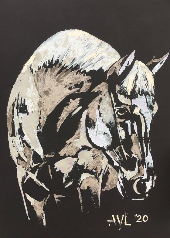Metallic horse II