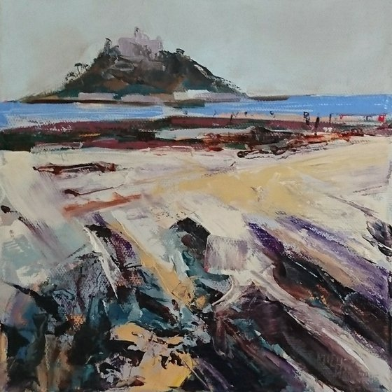 'The Mount' oil on canvas