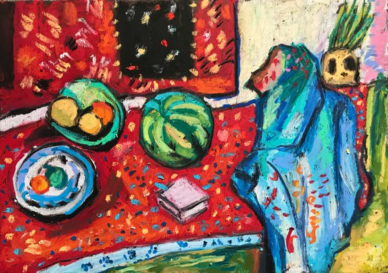 Still Life With Watermelon