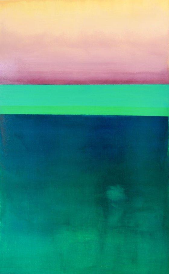Beyond (Self healing)/ Modern Minimalism Large Abstract