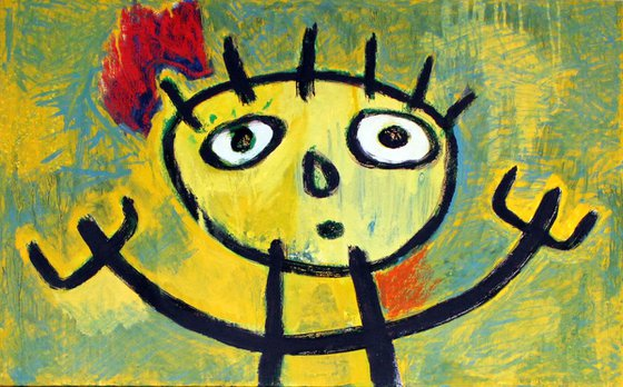 Tribute to Miró