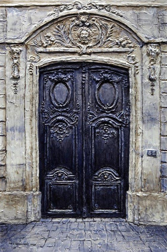 Parisian Door No. 55