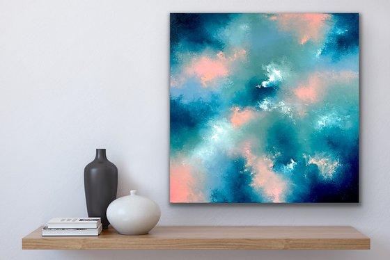 Celestial vibes - Abstract - 61cm x 61cm