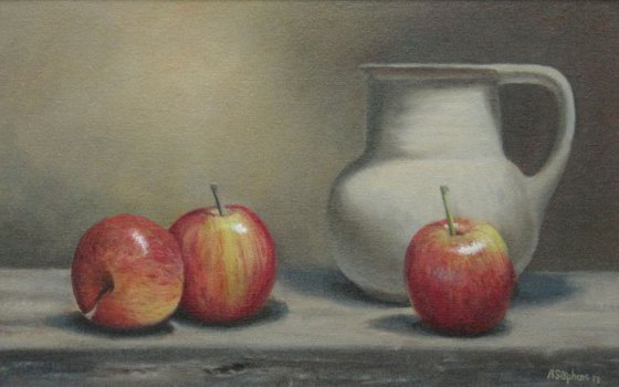 Apples with Jug