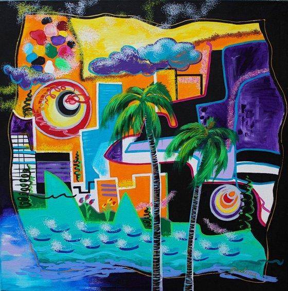 Tropical Ocean City