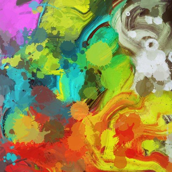 Joyful Splash of Colors