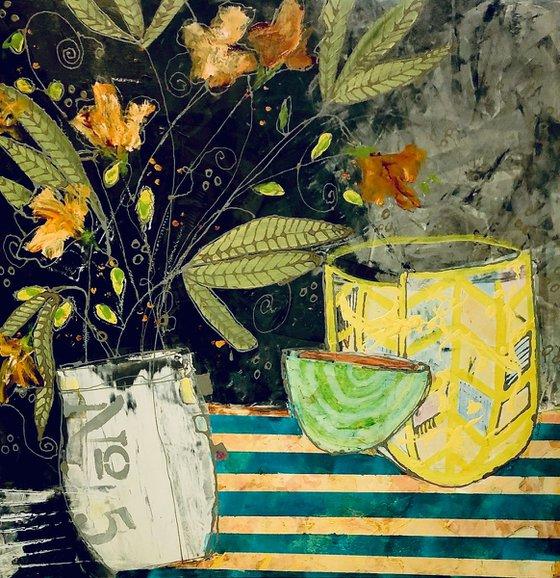 Yellow Jonquils. 30x30