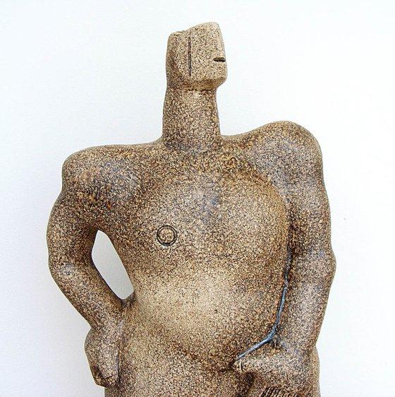 Mythological Giant, Rhitta Gawr - Legendary Welsh Giant - Ceramic Sculpture