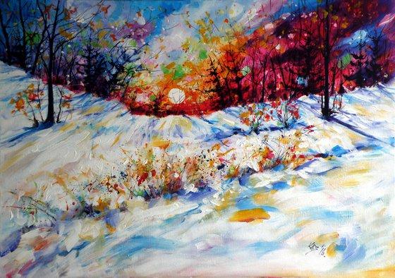 Winter (70 x 50 cm)