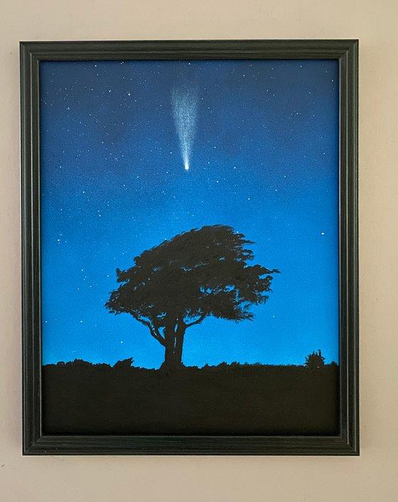 Comet over Brighton I