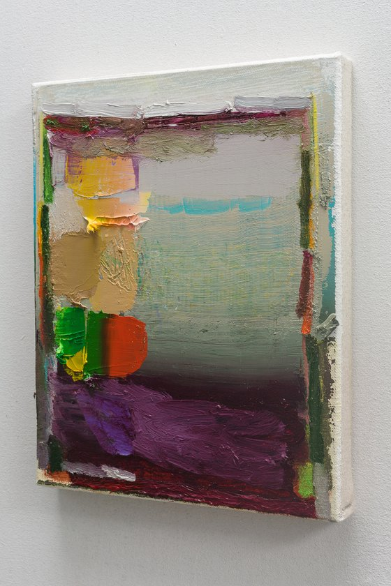 NO PP 66, Abstract Oil Painting on Canvas, Ready to Hang