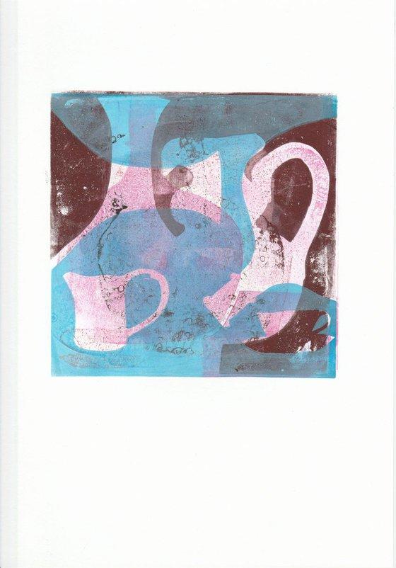 Monoprint - Still life no. 4