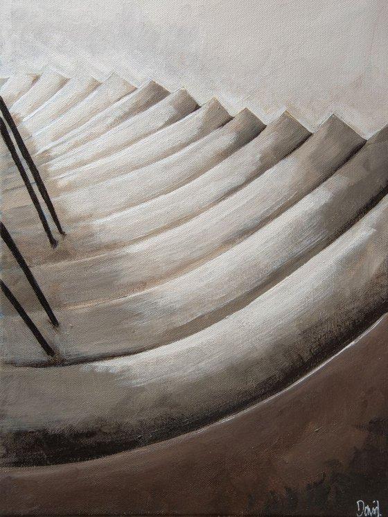 Light on stairs III