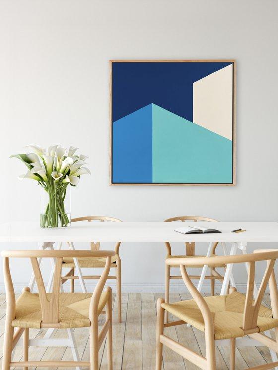 Assemble (Geometric Acrylic Painting)
