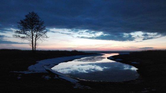 Photography | Curonian Lagoon | Evening at Curonian Lagoon