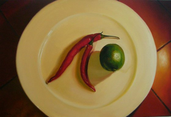 Two Chillies and a Lime