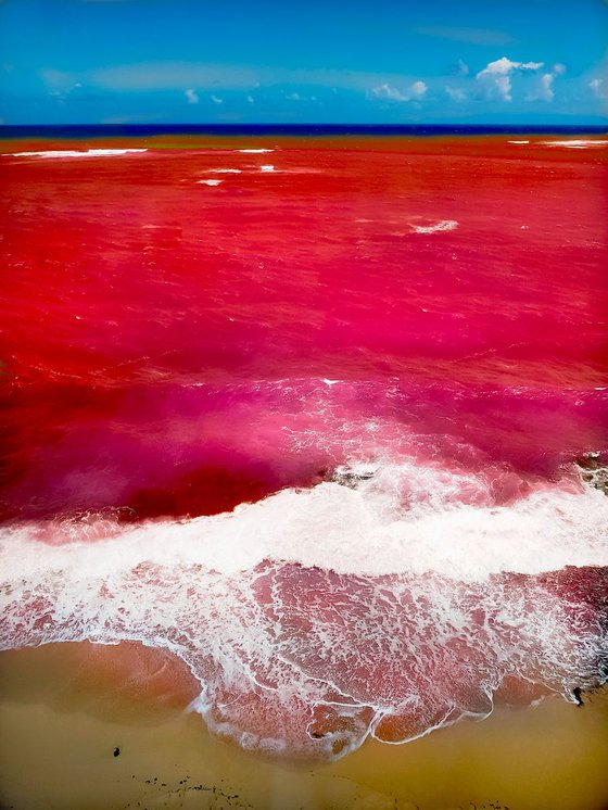 Red Ocean of Puerto Rico