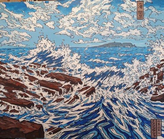 japanese style seascape 5