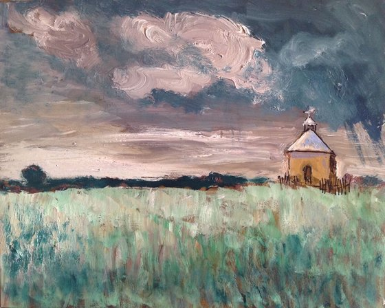 Church in a Meadow