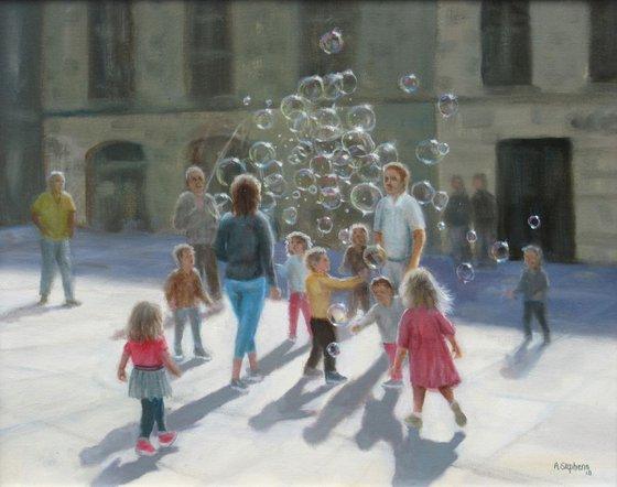 Bubbles, Luca