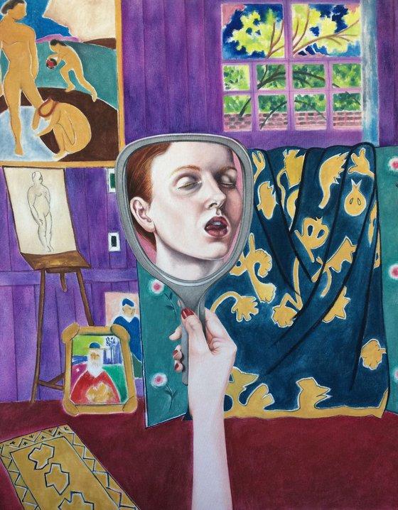 Matisse's mistress.