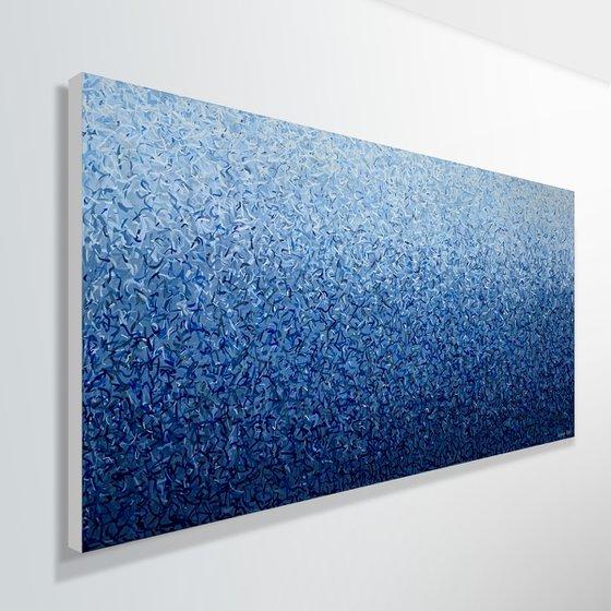 Deep Dance 152 x 76cm acrylic on canvas