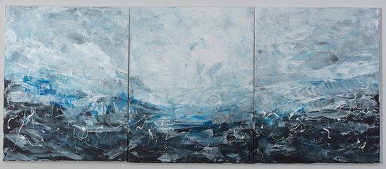 Storm in the ocean