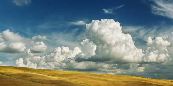 Summer in Tuscany - Landscape Fine Art Photo - Limited edition 1 of 5